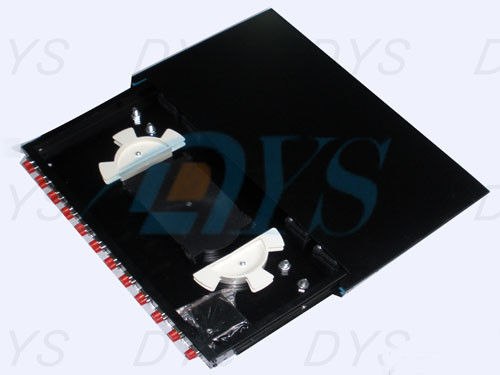 China 1U Height Fiber Optic Odf FC Slidable Type LC Duplex Port For ST supplier