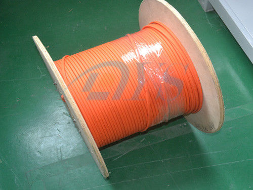China Indoor Duplex Fiber Optic Cable Patch Cord 1000/300 Flattening Strength Flexibility supplier
