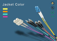 SC Fiber Patch Cord 100% Insertion Loss Less <0.1dB Master Fiber Opitc Patch Cord OM1,OM2,OM3,OM4